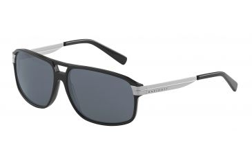 Davidoff 97201 Progressive Prescription Sunglasses - Black Frame and Grey Lens 97201-8840PR