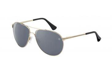 Davidoff No. 97330 Sunglasses - Gold Frame and Grey Silver Lens 97330-600