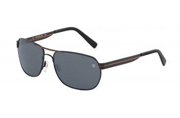 Davidoff No. 97331 Sunglasses - Black Frame and Grey Lens 97331-592