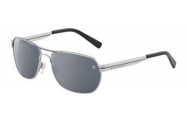 Davidoff 97331 Progressive Prescription Sunglasses - Silver Frame and Grey Silver Lens 97331-110PR