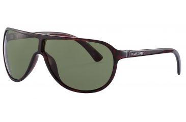 Davidoff 97607 Progressive Prescription Sunglasses - Red Frame and Grey Green Lens 97607-210PR