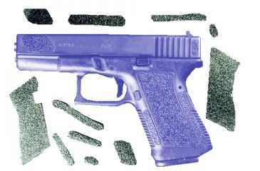 Decal Grip Enhancer For Glock 20 G20R