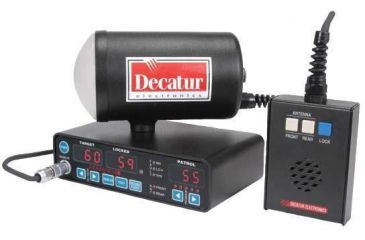 Decatur Genesis I Police Radar Gun with Single K-Band ...