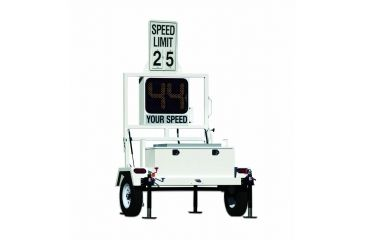Decatur OnSite 350 Radar Speed Display Trailer