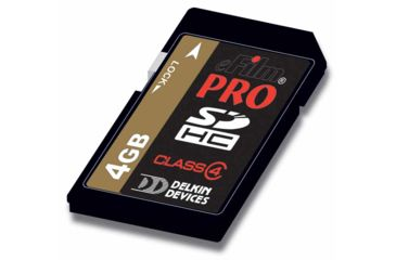 Delkin 4GB Pro Series SD Memory Card SLDK02