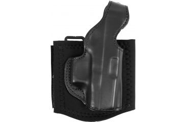 DeSantis 014 Die Hard Right Hand Black Leather Lined Ankle Holster