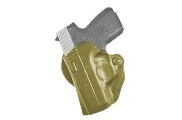 Desantis 019 Mini Scabbard Holster Left Hand Tan Kahr Pm9 Pm40 W Ct Lg 437 019tbu2z0