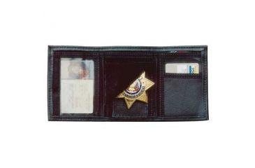 DeSantis Ambidextrous - Black - Leather Badge/ID Wallet A53BJZZZ0