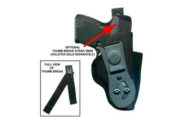 DeSantis Ambidextrous - Black - Large - Thumb Break Strap for M24 M28BJG2Z0