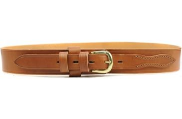 DeSantis Basketweave Belt, 1.75in Wide - Tan, 36in Waist - B08TG36Z0
