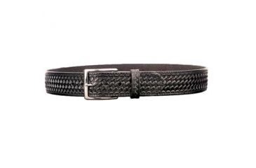 DeSantis Black - Basketweave Belt 1 3/4in. Wide B08BG28Z0 28in.
