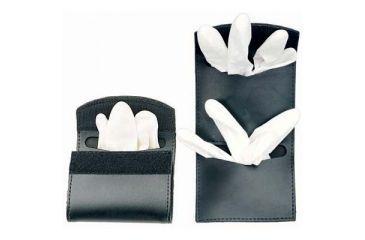 DeSantis Black - Plain - Double Latex Glove Pouch U58BJZZZ4