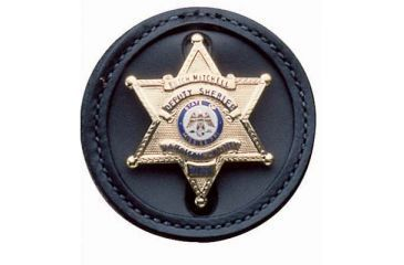 DeSantis Black - Plain - U.S. Marshall Badge Holder U22BZG8Z0