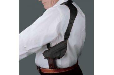 Desantis C.E.O. Shoulder Rig for Taurus 92, 99 5in, Left Hand, Black 11ZBB86Z0