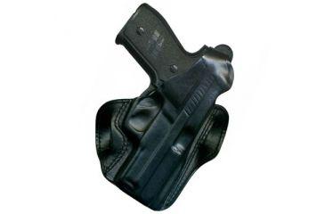 DeSantis D.H.S. I.C.E. Holster - Left, Black 013BBF4Z0 - SIG P229 WITH EQUIPMENT RAIL