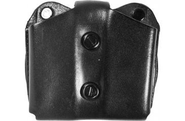 DeSantis Double Magazine Pouch, Black - Double Stack 9mm/.40 Not Glock - A01BJGGZ0
