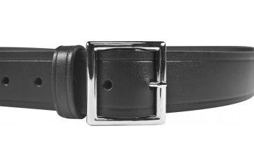 DeSantis Econoline 1.5in Garrison Belt, Black, Nickel Buckle - 54in - E22BJ54Z1