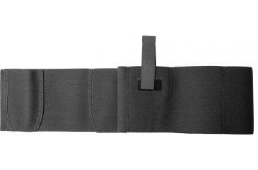 DeSantis Ambidextrous Elastic Belly Band Holster, Black, 2XL - Size 52-58 - 060BJG5Z0