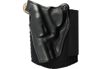 DeSantis Lined Die Hard Ankle Rig Holster, Left Black 014PDS1Z0