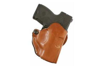 DeSantis Mini Scabbard Holster, Right, Tan, for Beretta Nano 019TAQ4Z0