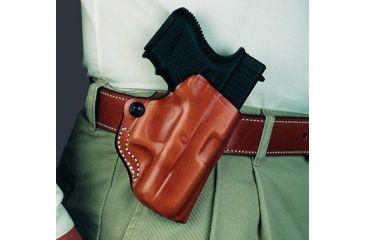 DeSantis Mini Scabbard Holster, Right Hand, Plain Tan - Ruger SR9C 019TAI4Z0