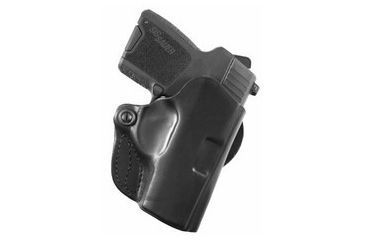 DeSantis Mini Scabbard Holster, Right, Black, for Sig P290 019BAX2Z0