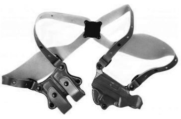 DeSantis NY UnderCover Shoulder Rig, Left, GOVERNOR 2.75in., S&W, BLK 11HBAV2Z0