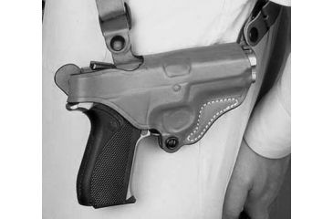 Desantis New York Undercover, Black Right Hand, Black, Fits, Sig P226R