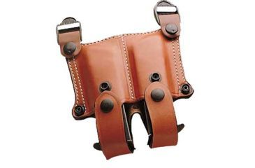 DeSantis New York Undercover Shoulder Holster - Right, Tan w/ Double Mag Pouch 11DTA86E0 - BERETTA 92M