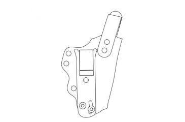 DeSantis Left Hand - Black - CG Investigator D95KBB2Z0