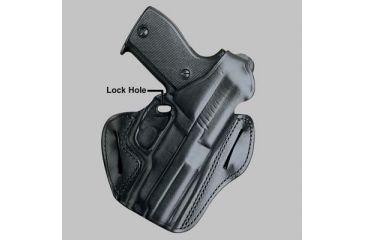 DeSantis Left Hand - Black - F.A.M.S. w/ Lock Hole 01LBBB6Z0