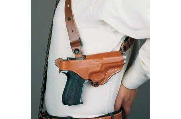 DeSantis Left Hand - Black - Lined - New York Undercover Rig w/ Double Magazine Pouch 11DBD21G0
