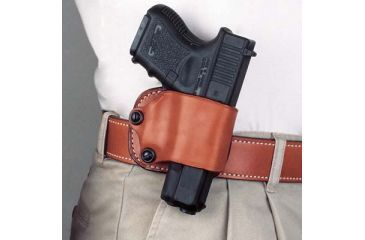 2-DeSantis Right Hand Black Yaqui Paddle Holster 029BASAZ0 - FITS MOST SINGLE ACTION AUTOS