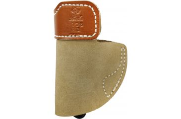 Desantis Sof-Tuck IWB Holster for Kimber Solo, Natural Suede, Right-Hand Front