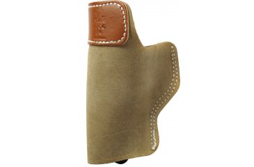 DeSantis Right Hand - Natural - Sof-Tuck Holster for Glock 19, 23, 36 Front