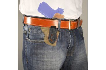 DeSantis Sof-Tuck Inside-the-Pants Holster for Ruger LCR