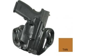 DeSantis Speed Scabbard Holster - Right, Tan, for Springfield XD9 4in., XD series w/ Crimson Trace Lightguard LTG-746 002TAQ6Z0