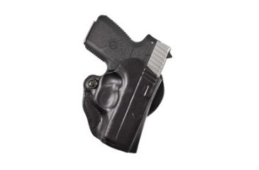 DeSantis Style 019 Mini Scabbard Holster, Right Hand, Black - Kahr PM 9/40 w/ CT LG-437 - 019BAU2Z0