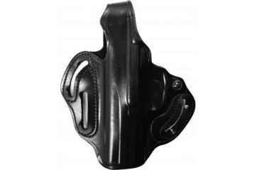 DeSantis Thumb Break Scabbard Holster - Left Hand, Black, Plain, Unlined, 3 Slot 001BB30Z0 - FITS FNX-9/FNX-40,
