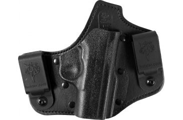 DeSantis Tuckable Adjustable Pistol Holster, Black, Right, 105KAV8Z0