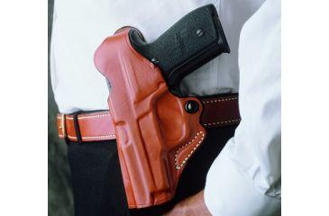 Desantis Viper Paddle Holster for Beretta Cougar 8000, 8040, Left Hand, Tan 065TB99Z0