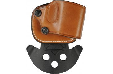 1-DeSantis Right Hand Tan Yaqui Paddle Holster 029TADAZ0 - FITS MOST DOUBLE ACTION AUTOS