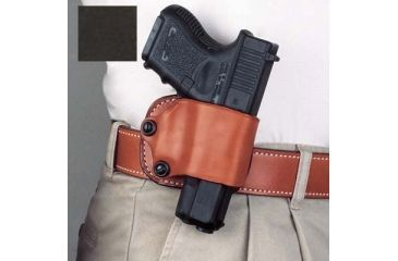 1-DeSantis Right Hand Black Yaqui Paddle Holster 029BASAZ0 - FITS MOST SINGLE ACTION AUTOS