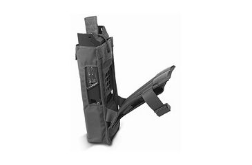 Diamondback Tactical 152 MBTR Radio Pouch, Black, A-BLPM33-BLACK