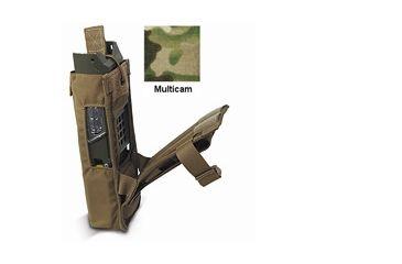 Diamondback Tactical 152 MBTR Radio Pouch, Multicam, A-BLPM33-MULTICAM
