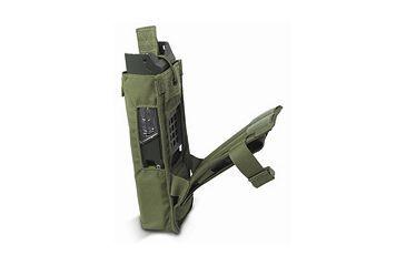 Diamondback Tactical 152 MBTR Radio Pouch, Ranger Green, A-BLPM33-RANGERGREEN