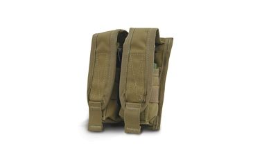 Diamondback Tactical 40 mm Double Flashbang Pouch, Coyote, A-BLPM20-2-COYOTE