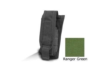 Diamondback Tactical 40 mm Single Flashbang Pouch, Ranger Green, A-BLPM20-1-RANGERGREEN