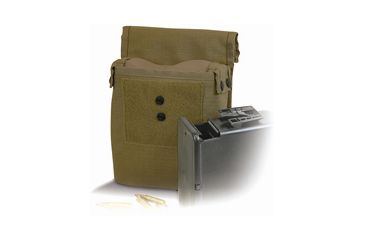 Diamondback Tactical M249 Saw Ammo 200RD Pouch, Coyote, A-BLPM15-COYOTE