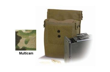 Diamondback Tactical M249 Saw Ammo 200RD Pouch, Multicam, A-BLPM15-MULTICAM